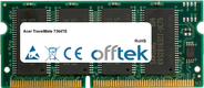 TravelMate 7364TE 64MB Modulo - 144 Pin 3.3v PC66 SDRAM SoDimm