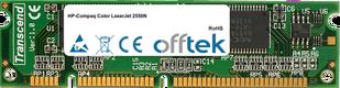 Color LaserJet 2550N 128MB Modulo - 100 Pin 3.3v SDRAM PC100 SoDimm