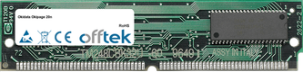Okipage 20n 32MB Modulo - 72 Pin 5v FPM Non-Parity Simm