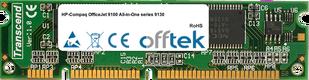 OfficeJet 9100 All-in-One Serie 9130 128MB Modulo - 100 Pin 3.3v SDRAM PC100 SoDimm