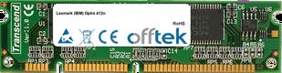 Optra 412n 64MB Modulo - 100 Pin 3.3v SDRAM PC133 SoDimm