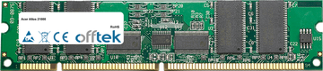 Altos 21000 256MB Modulo - 168 Pin 3.3v PC100 ECC Registered SDRAM Dimm