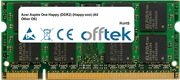 Aspire One Happy (DDR2) (Happy-xxx) (All Other OS) 2GB Modulo - 200 Pin 1.8v DDR2 PC2-5300 SoDimm