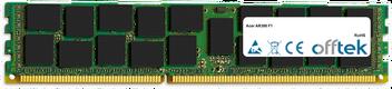 AR380 F1 16GB Modulo - 240 Pin 1.5v DDR3 PC3-8500 ECC Registered Dimm (Quad Rank)