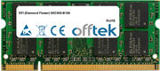 G5C900-B106 2GB Modulo - 200 Pin 1.8v DDR2 PC2-5300 SoDimm