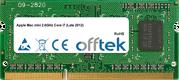 Mac Mini 2.6GHz Core I7 (Late 2012) 8GB Modulo - 204 Pin 1.5v DDR3 PC3-12800 SoDimm