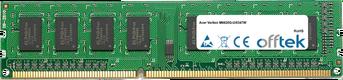 Veriton M6620G-Ui5347W 8GB Modulo - 240 Pin 1.5v DDR3 PC3-12800 Non-ECC Dimm