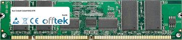 Cobalt RAQ XTR 512MB Modulo - 168 Pin 3.3v PC133 ECC Registered SDRAM Dimm