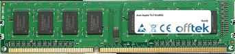 Aspire T3-710-UR53 8GB Modulo - 240 Pin 1.5v DDR3 PC3-12800 Non-ECC Dimm