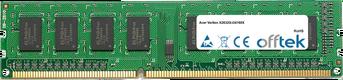 Veriton X2632G-i34160X 8GB Modulo - 240 Pin 1.5v DDR3 PC3-12800 Non-ECC Dimm