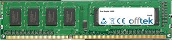 Aspire 1600X 4GB Modulo - 240 Pin 1.5v DDR3 PC3-12800 Non-ECC Dimm