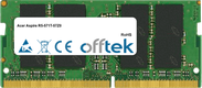 Aspire R5-571T-57Z0 8GB Modulo - 260 Pin 1.2v DDR4 PC4-17000 SoDimm