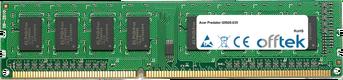 Predator G5920-035 4GB Modulo - 240 Pin 1.5v DDR3 PC3-12800 Non-ECC Dimm