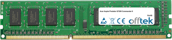 Aspire Predator G7200 Commander II 2GB Modulo - 240 Pin 1.5v DDR3 PC3-8500 Non-ECC Dimm