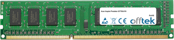 Aspire Predator G7750-019 2GB Modulo - 240 Pin 1.5v DDR3 PC3-10664 Non-ECC Dimm