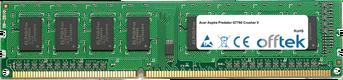 Aspire Predator G7760 Crusher V 4GB Modulo - 240 Pin 1.5v DDR3 PC3-10664 Non-ECC Dimm