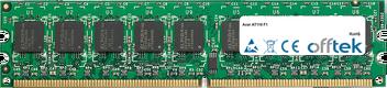 AT110 F1 2GB Modulo - 240 Pin 1.8v DDR2 PC2-6400 ECC Dimm (Dual Rank)