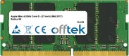 IMac 4.2GHz Core I5 - (27-inch) (Mid 2017) Retina 5K 16GB Modulo - 260 Pin 1.2v DDR4 PC4-19200 SoDimm