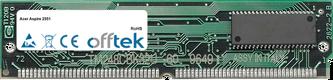 Aspire 2551 64MB Kit (2x32MB Moduli) - 72 Pin 5v EDO Non-Parity Simm