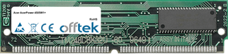 AcerPower 4505W1+ 64MB Kit (2x32MB Moduli) - 72 Pin 5v EDO Non-Parity Simm