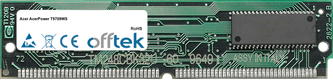 AcerPower T9709WS 64MB Kit (2x32MB Moduli) - 72 Pin 5v EDO Non-Parity Simm