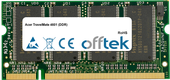 TravelMate 4601 (DDR) 1GB Modulo - 200 Pin 2.5v DDR PC333 SoDimm