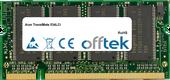 TravelMate 534LCi 512MB Modulo - 200 Pin 2.5v DDR PC266 SoDimm