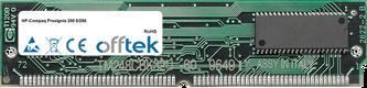 Prosignia 200 6/266 64MB Kit (2x32MB Moduli) - 72 Pin 5v EDO Non-Parity Simm