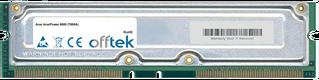 AcerPower 8600 (T600A) 512MB Kit (2x256MB Moduli) - 184 Pin 2.5v 800Mhz ECC RDRAM Rimm
