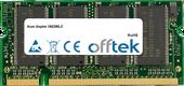 Aspire 1662WLC 1GB Modulo - 200 Pin 2.5v DDR PC333 SoDimm