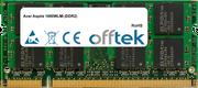 Aspire 1690WLMi (DDR2) 1GB Modulo - 200 Pin 1.8v DDR2 PC2-4200 SoDimm