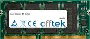 Extensa 501 Serie 128MB Modulo - 144 Pin 3.3v PC66 SDRAM SoDimm