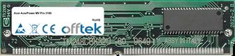 AcerPower MV Pro 3180 64MB Kit (2x32MB Moduli) - 72 Pin 5v EDO Non-Parity Simm