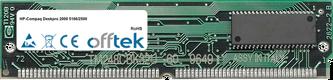 Deskpro 2000 5166/2500 16MB Kit (2x8MB Moduli) - 72 Pin 5v EDO Non-Parity Simm