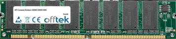 Deskpro 4000N 5200X/1600 128MB Modulo - 168 Pin 3.3v PC100 SDRAM Dimm
