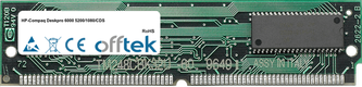 Deskpro 6000 5200/1080/CDS 16MB Kit (2x8MB Moduli) - 72 Pin 5v EDO Non-Parity Simm