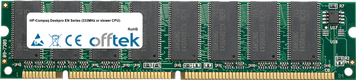 Deskpro EN Serie (333MHz Or Slower CPU) 128MB Modulo - 168 Pin 3.3v PC100 SDRAM Dimm