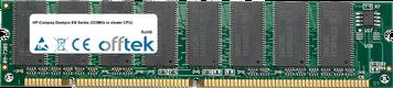 Deskpro EN Serie (333MHz Or Slower CPU) 128MB Modulo - 168 Pin 3.3v PC100 SDRAM Dimm