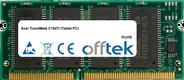 TravelMate C104Ti (Tablet PC) 128MB Modulo - 144 Pin 3.3v PC133 SDRAM SoDimm