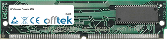 Presario 4714 16MB Kit (2x8MB Moduli) - 72 Pin 5v EDO Non-Parity Simm
