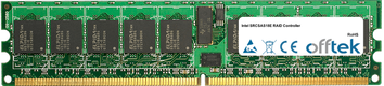 SRCSAS18E RAID Controller 512MB Modulo - 240 Pin 1.8v DDR2 PC2-3200 ECC Registered Dimm (Single Rank)