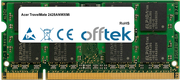 TravelMate 2428ANWXMi 1GB Modulo - 200 Pin 1.8v DDR2 PC2-4200 SoDimm