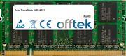 TravelMate 2480-2551 1GB Modulo - 200 Pin 1.8v DDR2 PC2-4200 SoDimm