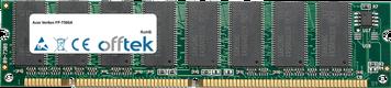 Veriton FP-T500A 128MB Modulo - 168 Pin 3.3v PC100 SDRAM Dimm