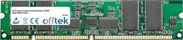 Professional Workstation AP400 350S1/400S1/450S1 256MB Modulo - 168 Pin 3.3v PC100 ECC Registered SDRAM Dimm