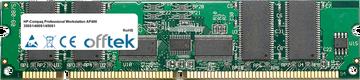 Professional Workstation AP400 350S1/400S1/450S1 256MB Modulo - 168 Pin 3.3v PC100 ECC Registered SDRAM Dimm