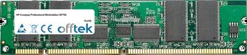 Professional Workstation SP700 512MB Modulo - 168 Pin 3.3v PC100 ECC Registered SDRAM Dimm