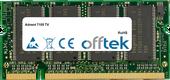 7105 TV 1GB Modulo - 200 Pin 2.5v DDR PC333 SoDimm