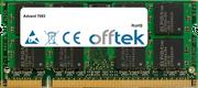 7093 1GB Modulo - 200 Pin 1.8v DDR2 PC2-4200 SoDimm