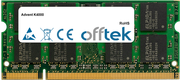 K4000 2GB Modulo - 200 Pin 1.8v DDR2 PC2-4200 SoDimm